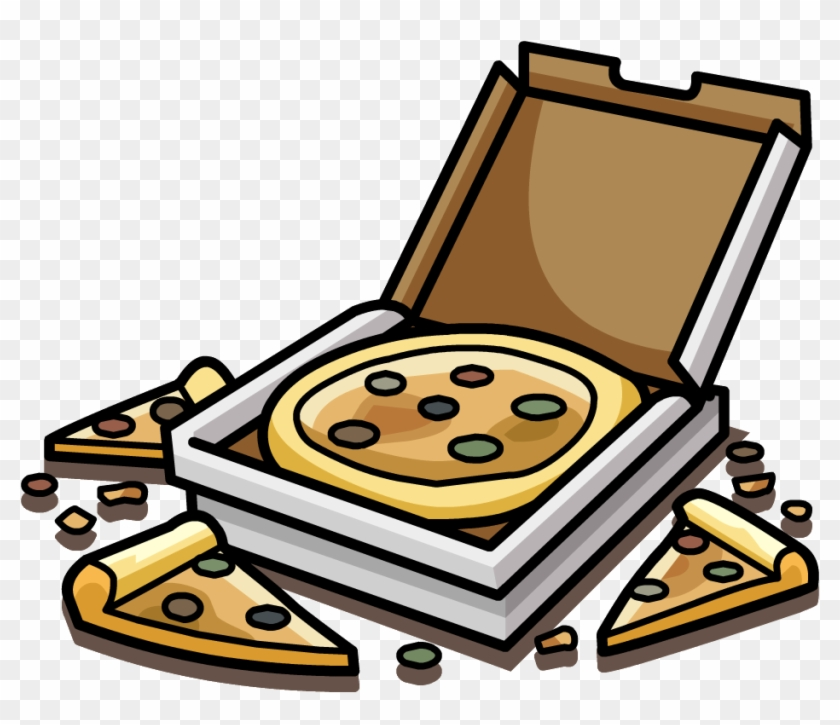 Pizza Box Png Download - Pizza De Club Penguin #484722