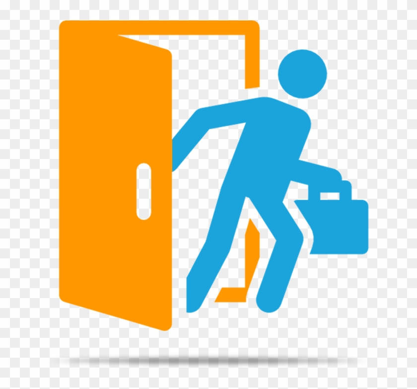 Exit Management - Employee Exit Icon #485073
