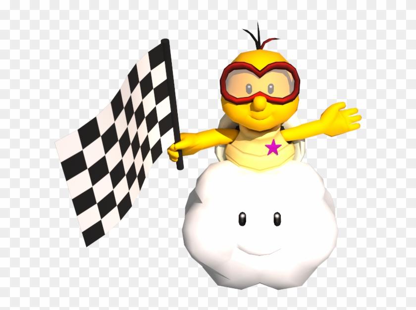 Mario Kart 7 Tournament - Mario Kart Finish Flag - Free