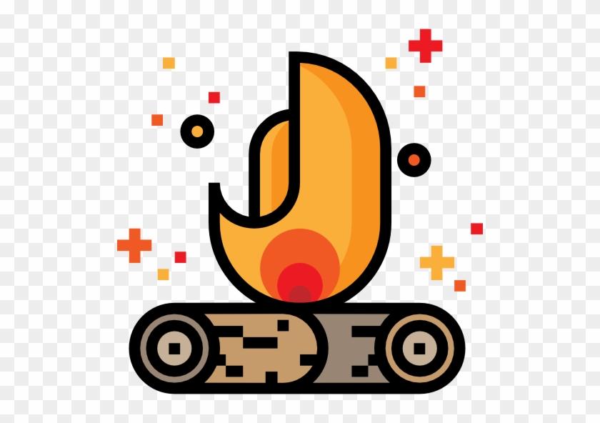 Computer Icons Bonfire Clip Art - Campfire #485396