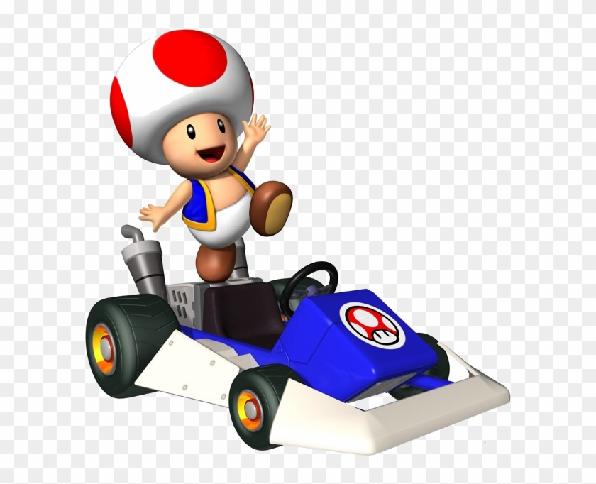Mario Kart Ds Mario Kart Characters Toad Free Transparent Png