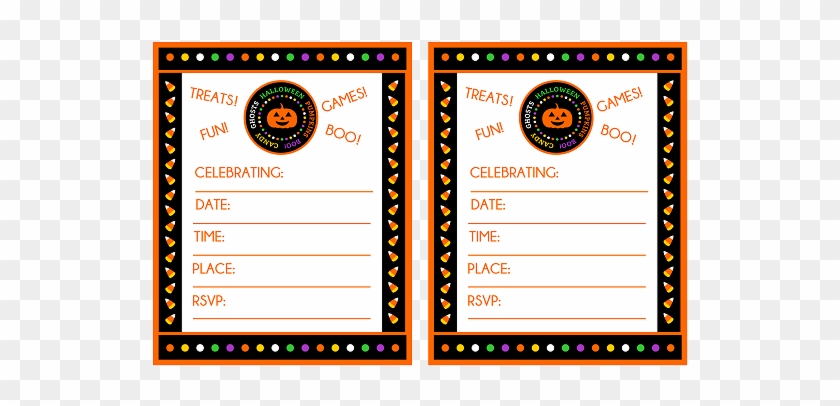 Free Printable Halloween Party Invitations Theruntime, - Halloween Party Invitations Free Printable #486321