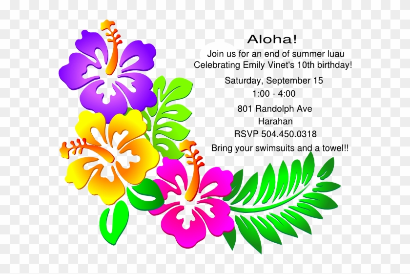 It is a picture of Free Printable Luau Invitations within pool party