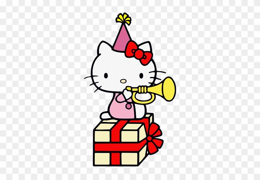 Hello Kitty - Happy Birthday Gif Hello Kitty - Free