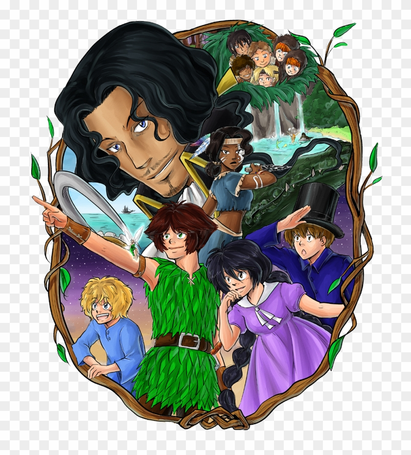 Anime Alice In Wonderland Characters Download - Peter Pan Graphic Novel Characters #487390