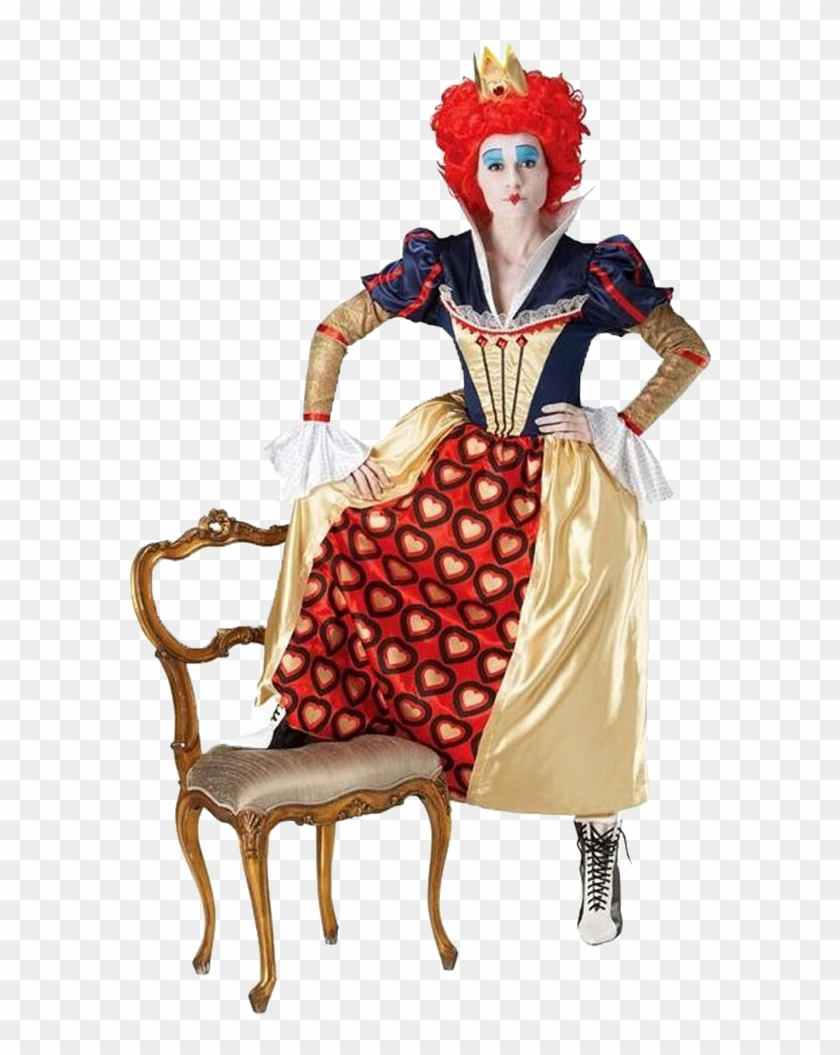 Rubies Alice In Wonderland Red Queen 12008385 0 - Queen Of Hearts Fancy Dress #487509