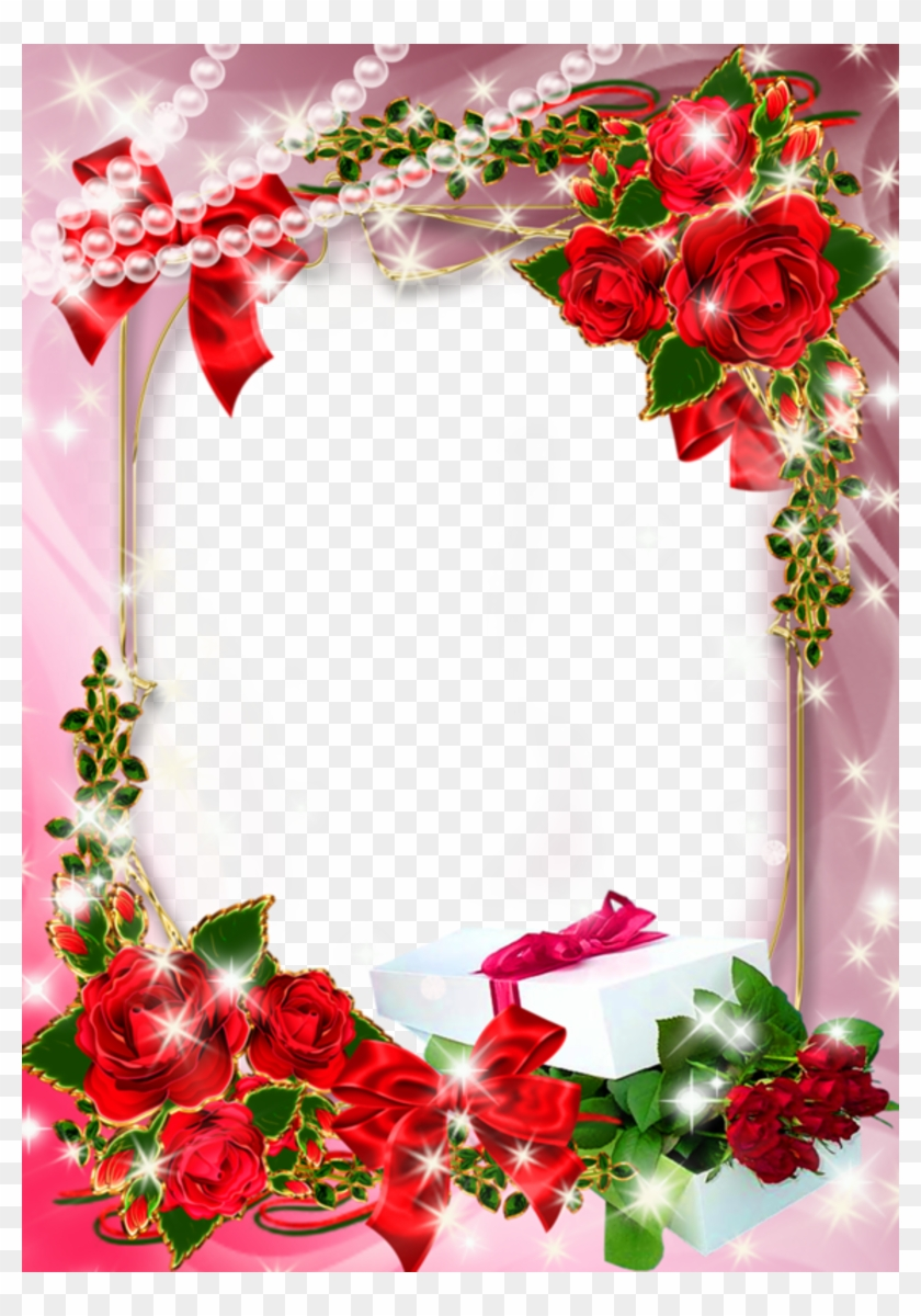Beautiful Pink Borders And Frames Free Transparent Png Clipart