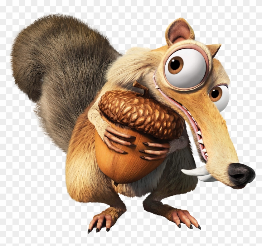 Ice Age Clipart - Squirrel From Ice Age #488226