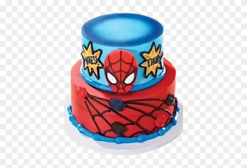 Birthday Cakes For Boys Decopac Edible Decoset Spider Man And