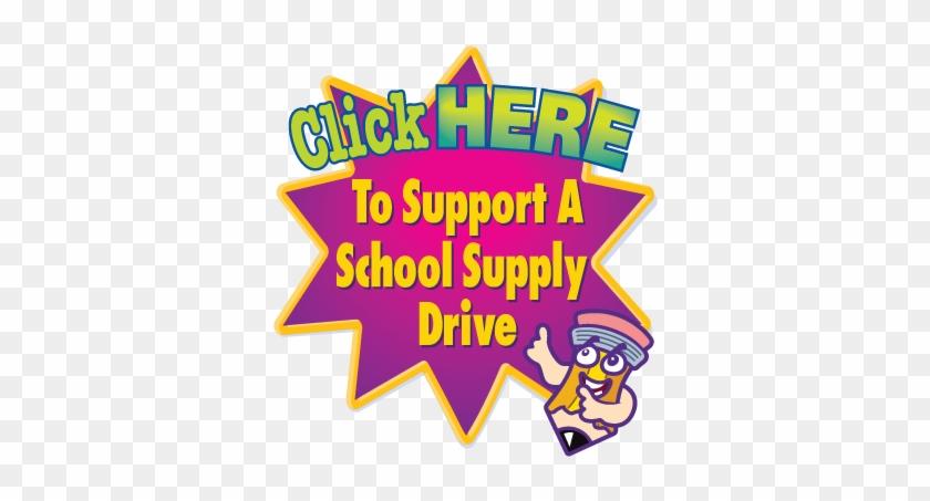 School Supply Drive - School Supplies #488471