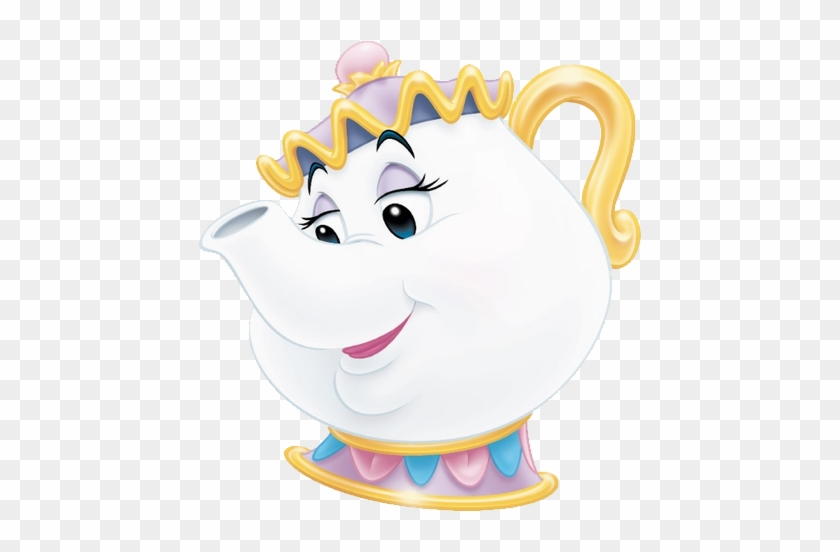 Mrs Potts Beauty And The Beast Characters Free Transparent Png