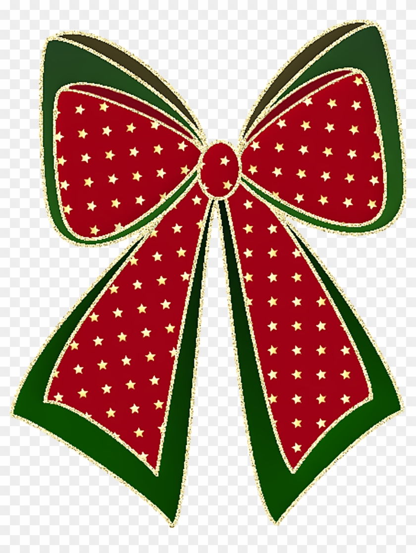 gift clipart christmas item christmas bow transparent clipart