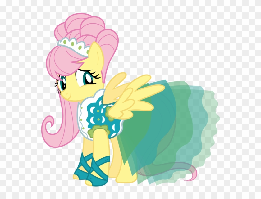 Free Pony Art For You Fluttershy Version Of The Baby - Mlp Fluttershy Green Isn T Your Color #488685