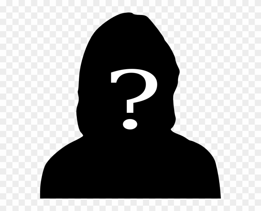 Unknown Clipart Man Silhouette - Woman Silhouette Question Mark #489156