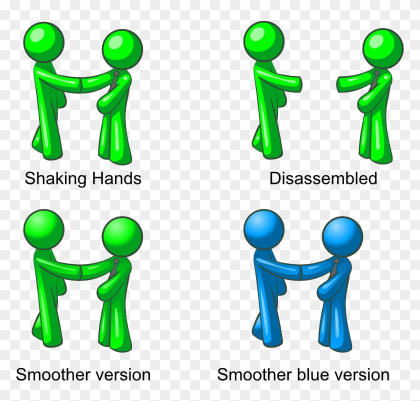 Men Shacking Hand - Shaking Hands Clip Art #490635
