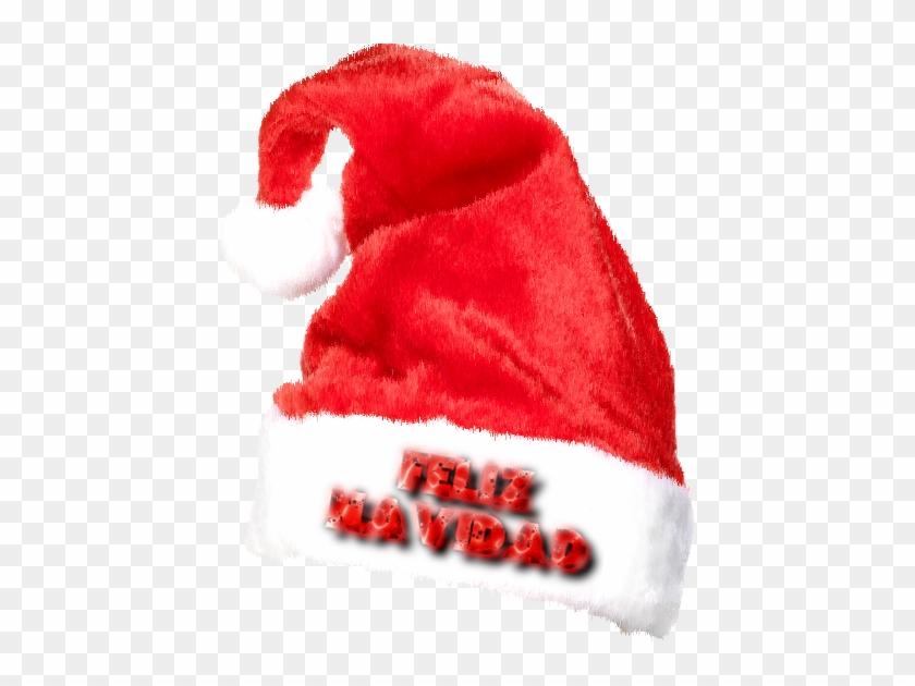 Gorros Navideños Con Inscripción Feliz Navidad
