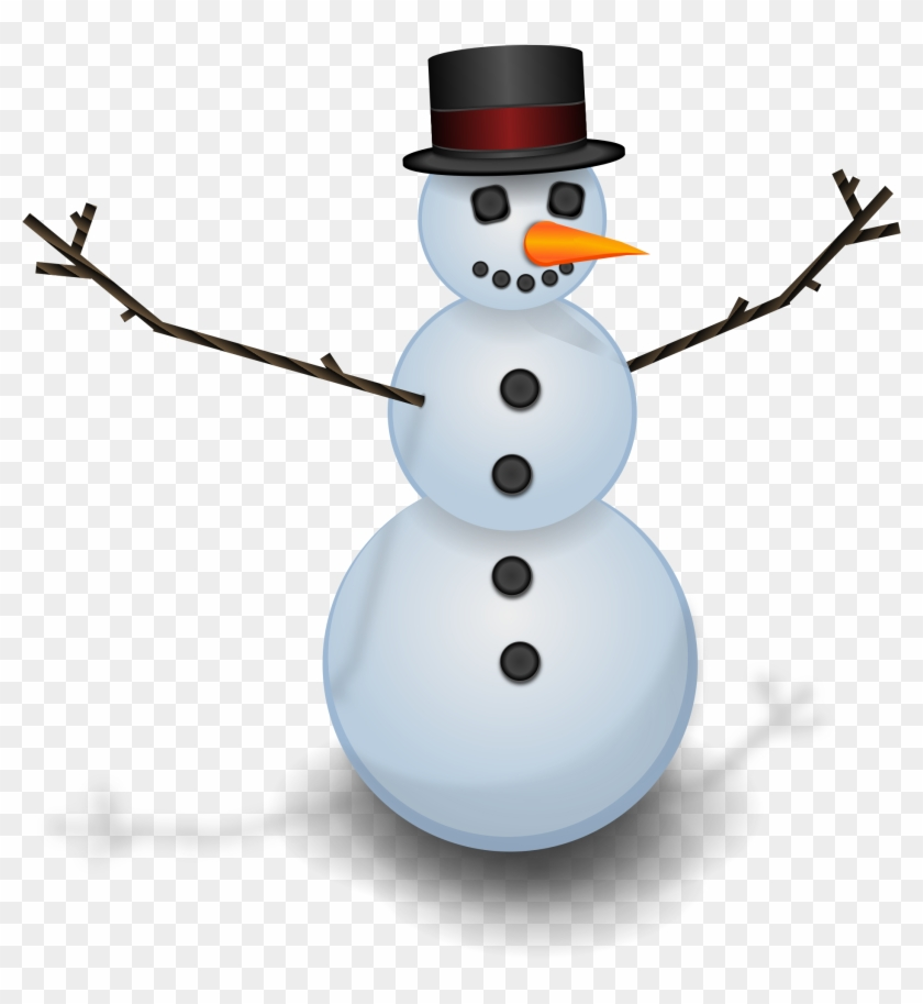 Beautiful X Build A Snowman With Making A Snowman Clipart - Snow Man Png #490745