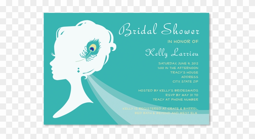 peacock bridal shower invitations stephenanuno save bridal shower 490822