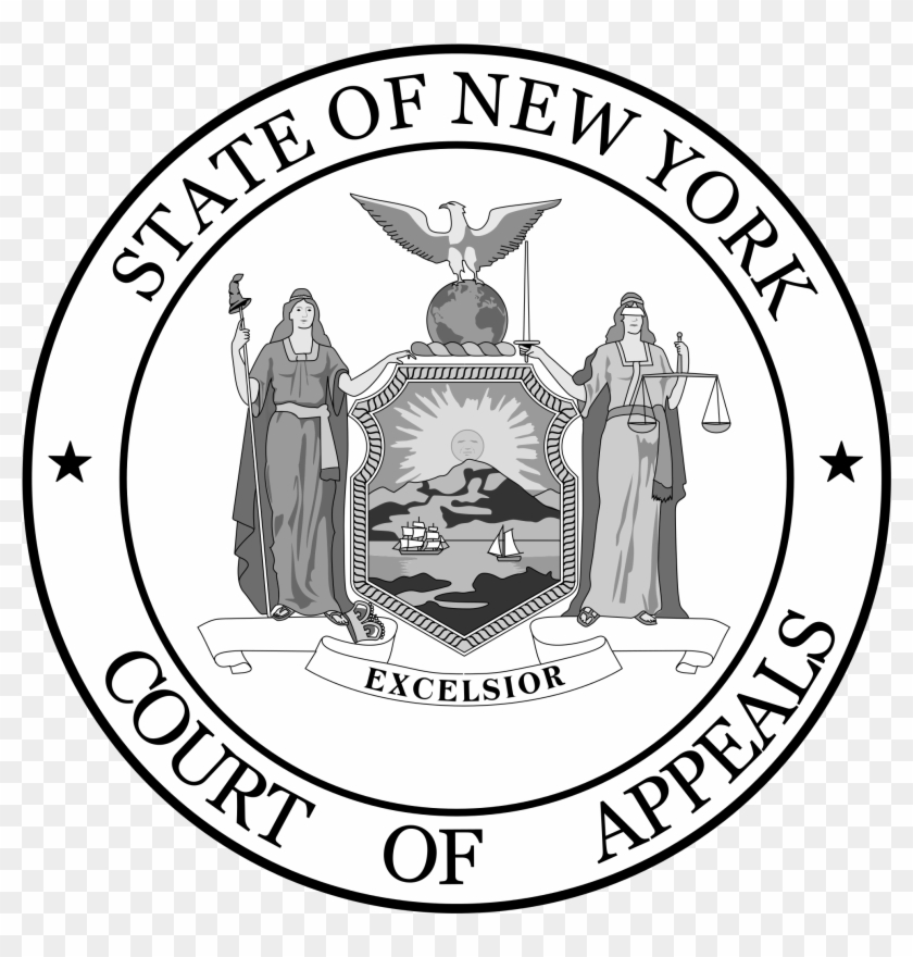 Seal Of The New York Court Of Appeals - New York State Seal Vector #491395