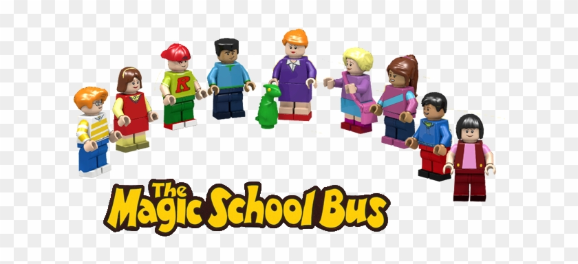The Animated Series Includes A Wide And Diverse Cast, - Time Of The Dinosaurs (the Magic School Bus) #491495