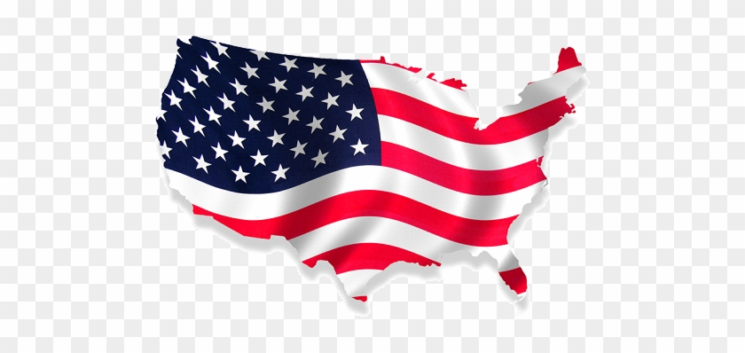 America American Flag Usa Map Free Transparent Png Clipart