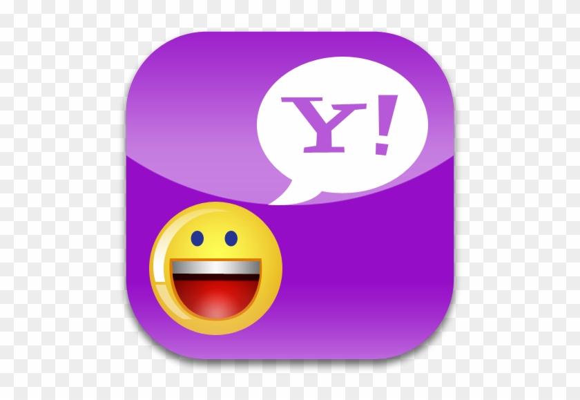 Yahoo Messenger Logo Png, Image Of Yahoo Messenger - Yahoo Icon #493218
