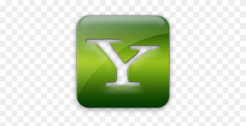 Yahoo Messenger Logo Png Yahoo Logo Font Yahoo Logout - Yahoo Icon Green #493229