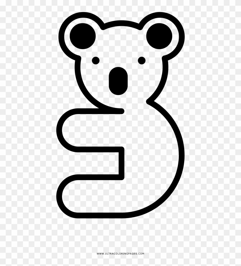 Koala Coloring Page Coloring Book Free Transparent Png Clipart Images Download