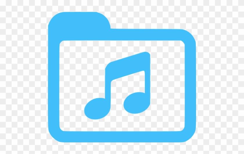 Caribbean blue music icon download icon orange free.