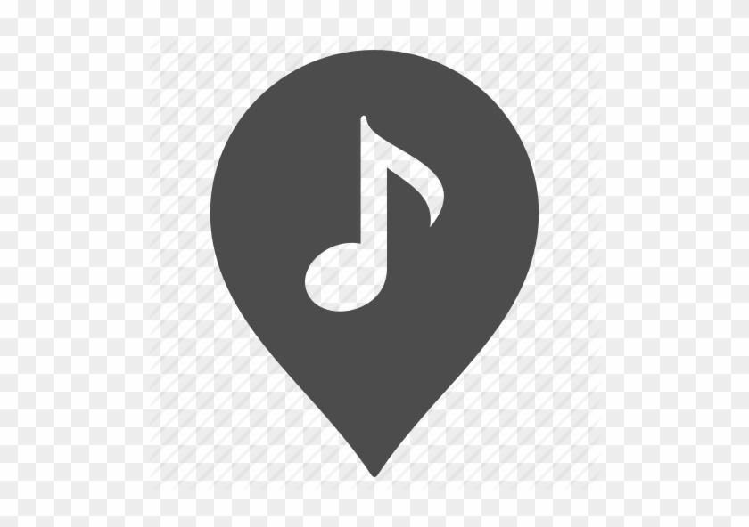 Music-512 - Music Pin Icon #493614