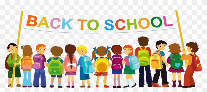 First Day Of School Student Class Teacher - Go Back To School #494153