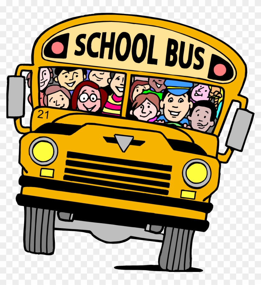 Back To School School Bus Clipart - School Bus Photo Clipart #494175