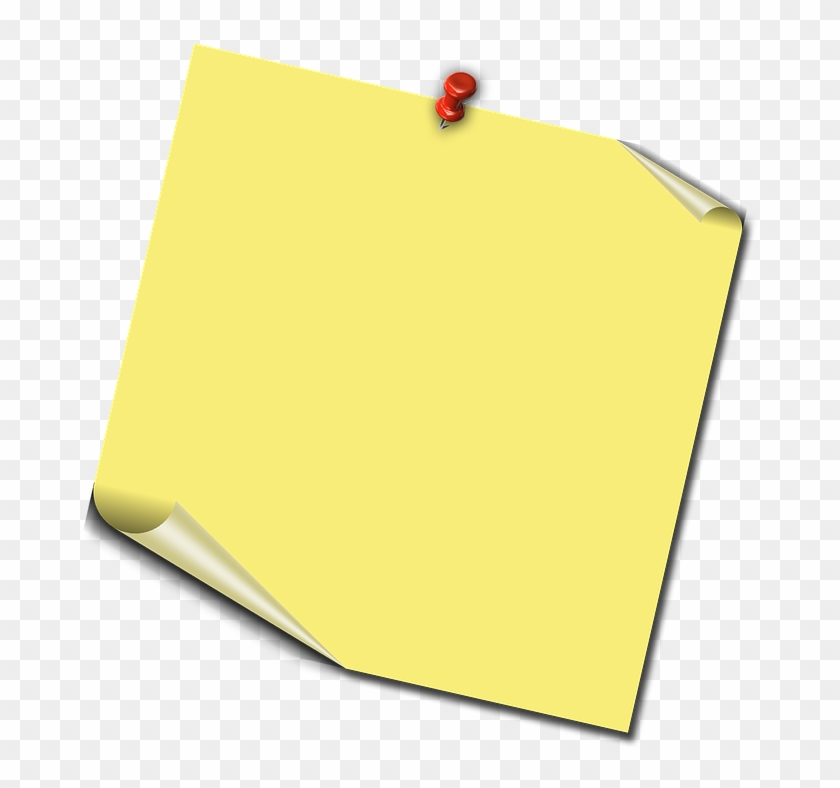 Post It Note Png 27, Buy Clip Art - Notice Board Transparent Background #494492