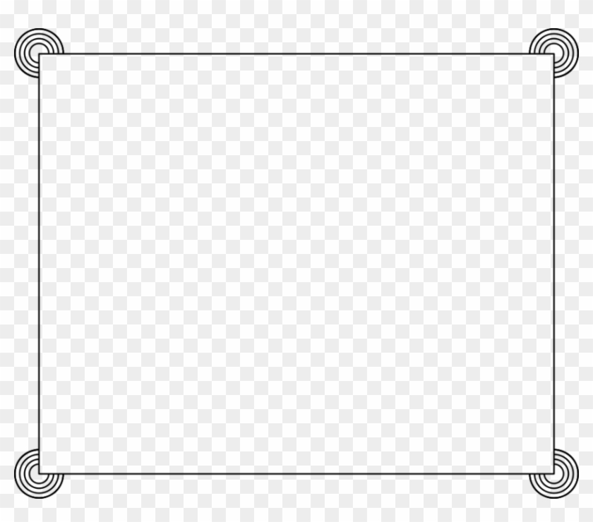 Text Box Border - Cliparts Borders Free Download #494706