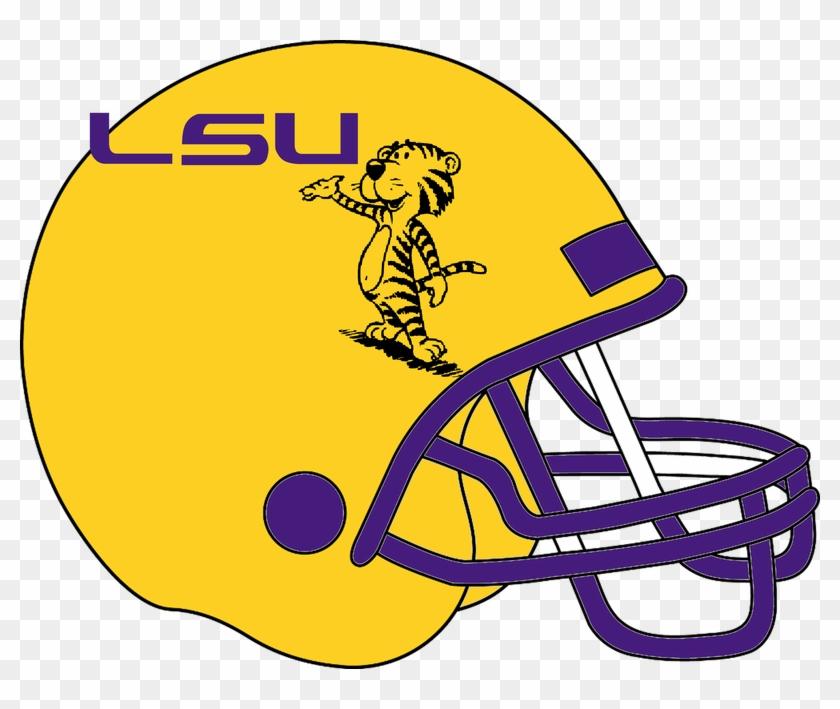 Helmet Clipart Lsu Football American Football Free