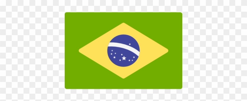 Brazil Elections - Brazil Flag Icon Png #495637