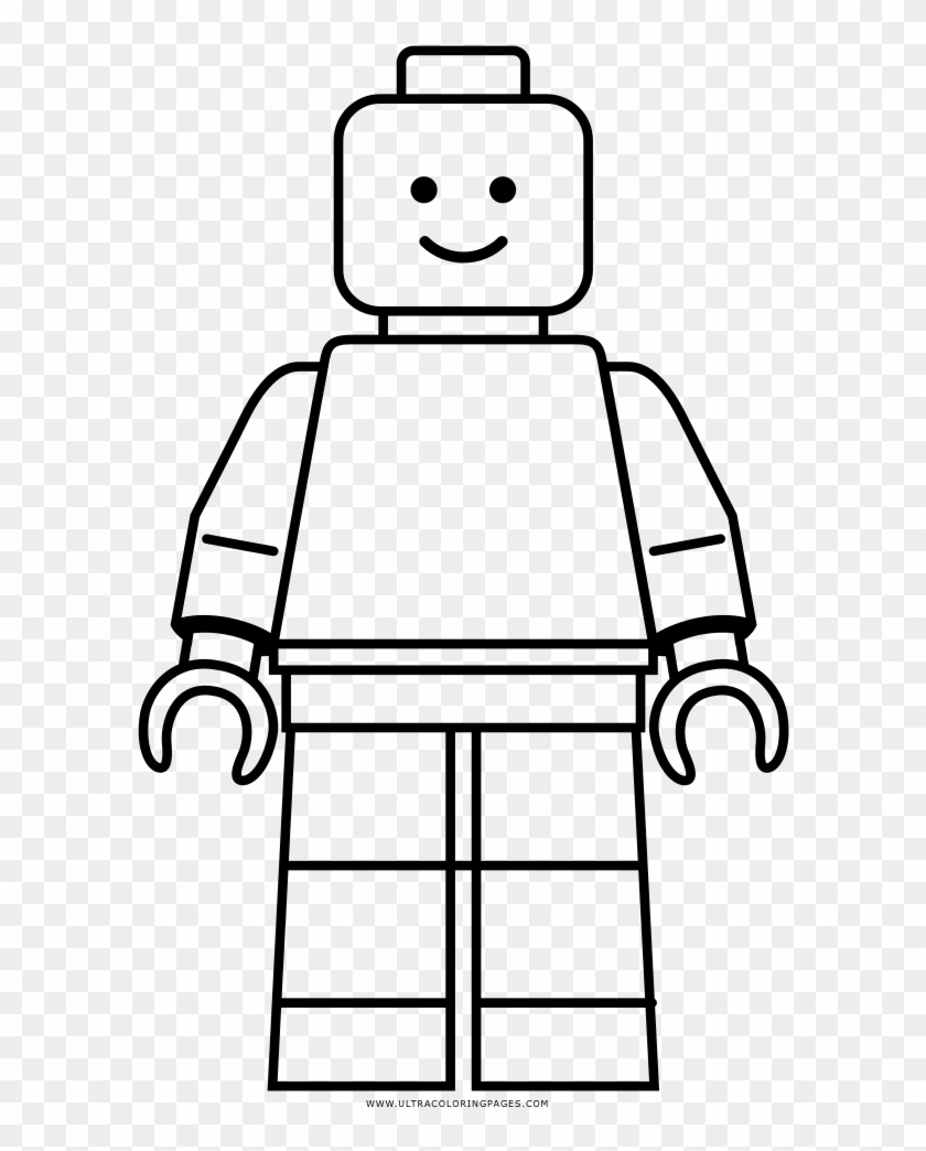 Lego Coloring Page Lego Minifig Coloring Page Free Transparent Png Clipart Images Download