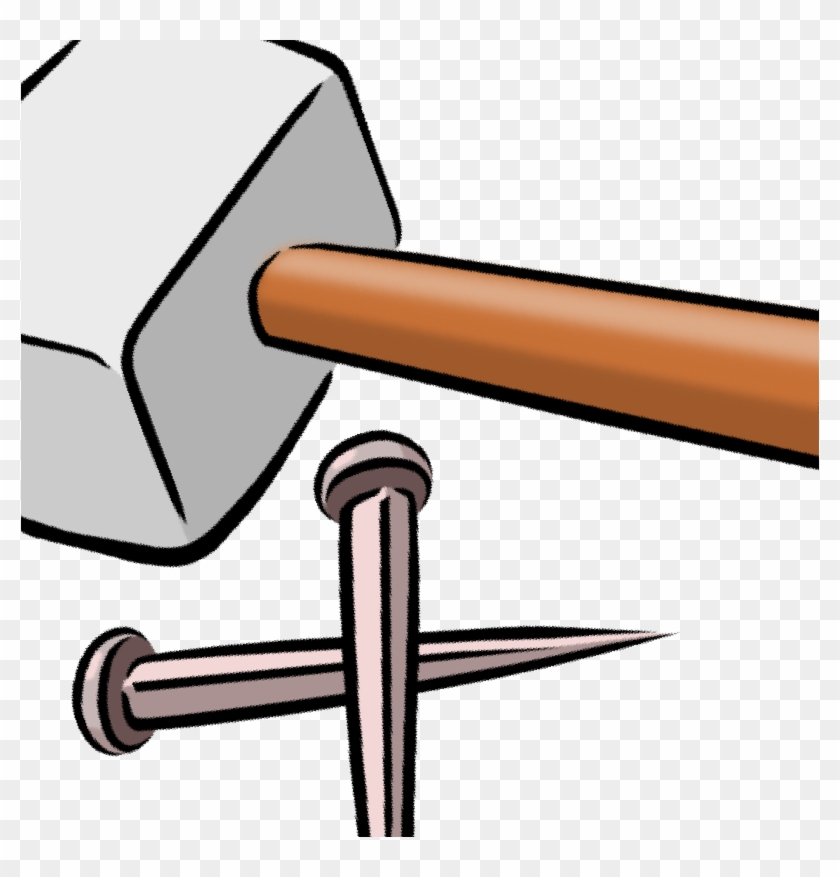 Nail And Hammer Clipart Pictures Cartoon Hammer And Nails Free Transparent Png Clipart Images Download
