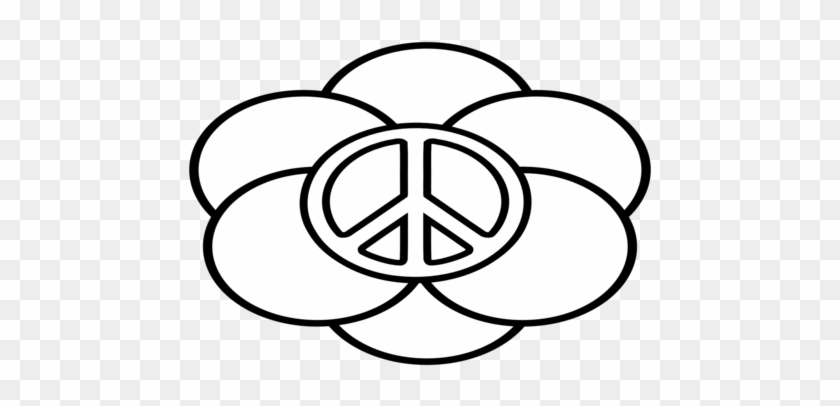 image about Printable Peace Signs known as Printable Paper Leisure Signal Clipart Excellent - Colouring Webpages Of