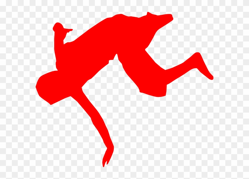 Breakdancer Rosso Clip Art At Clker - Break Dance #496600