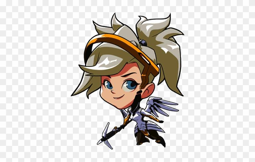 Registered User - Overwatch Mercy Cute Spray #496618