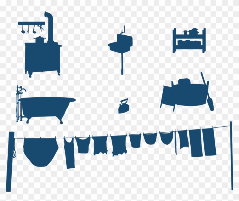 household silhouettes perabotan rumah tangga vektor free transparent png clipart images download household silhouettes perabotan rumah