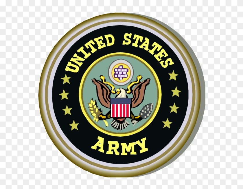 Related For Army Seal Clip Art - United States Army Seal #496837
