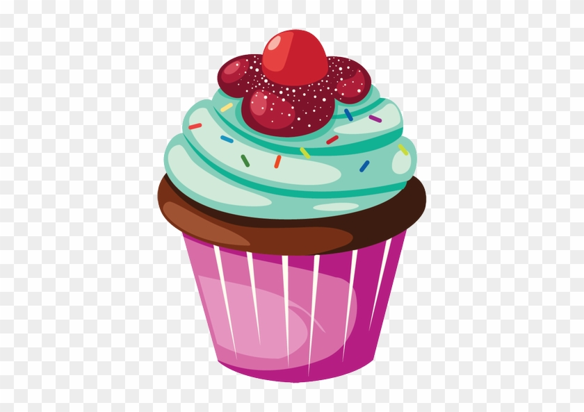 Doodle cupcakes retro clipart - Graphics / Clip Art | Luvly
