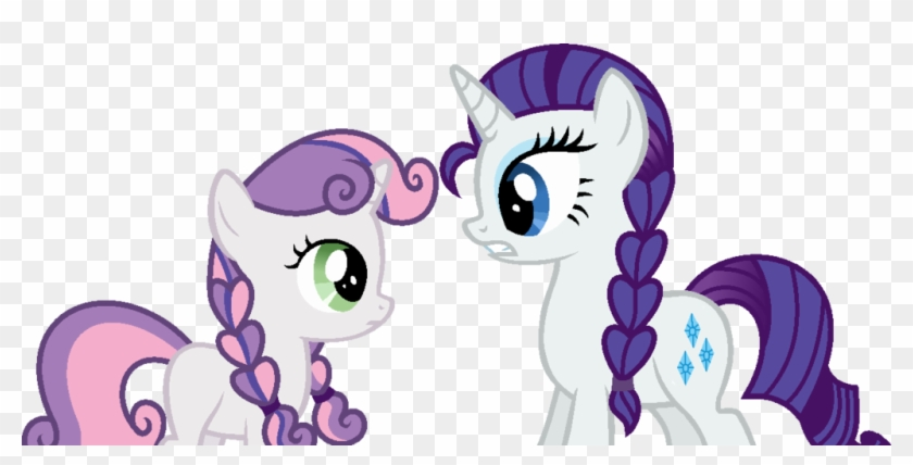 Alternate Hairstyle, Anna, Artist - Rarity And Sweetie Belle Elsa And Anna #497830