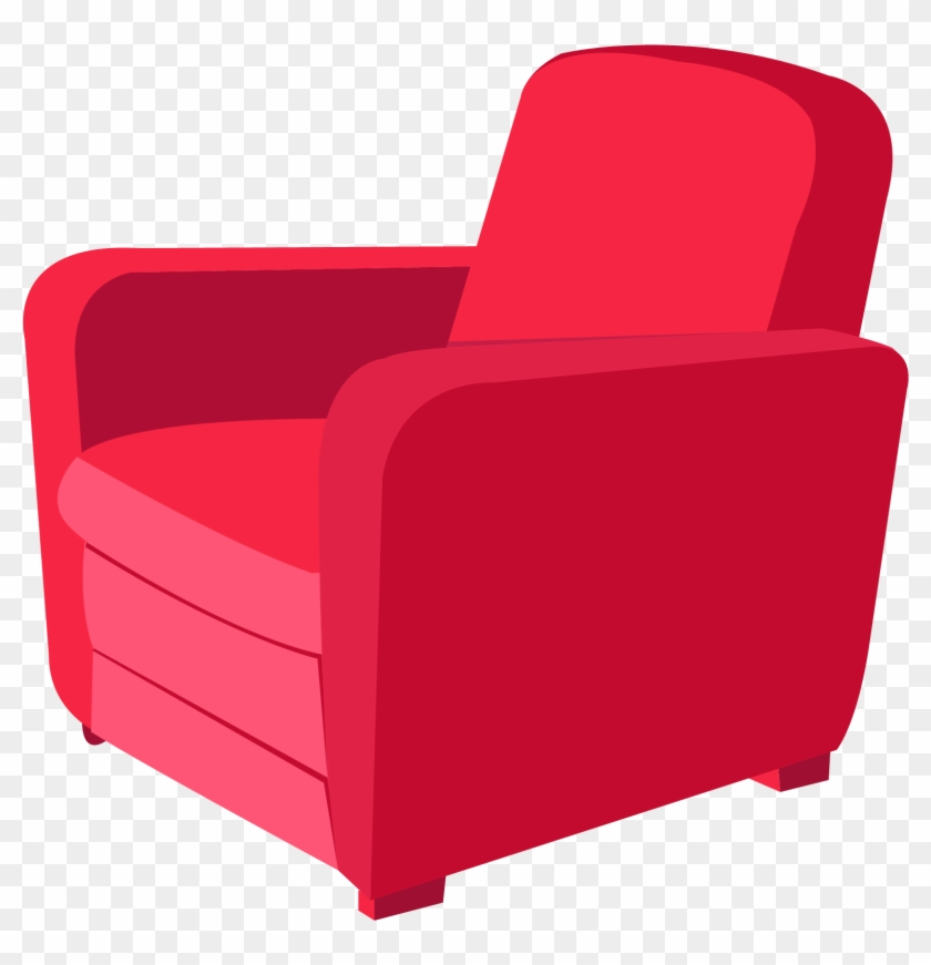 Chair Furniture Stool Couch Armchair Png Vector Free Transparent
