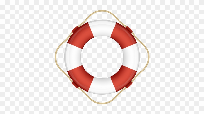 Resque Logo With Ruby Logo Transparent - Red And White Life Preserver Ring #498247