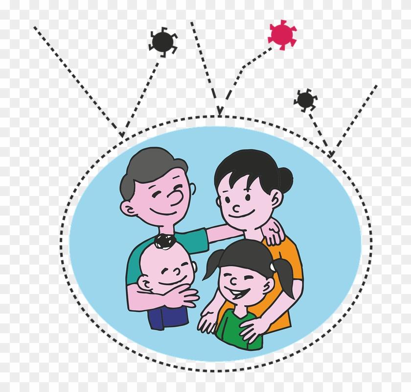Gambar Kartun Ibu Ayah Dan Anak Free Transparent Png Clipart Images Download