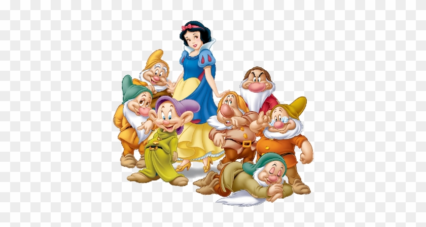 Snow White And The Seven Dwarfs Clipart - Snow White And The Seven Dwarfs #499244