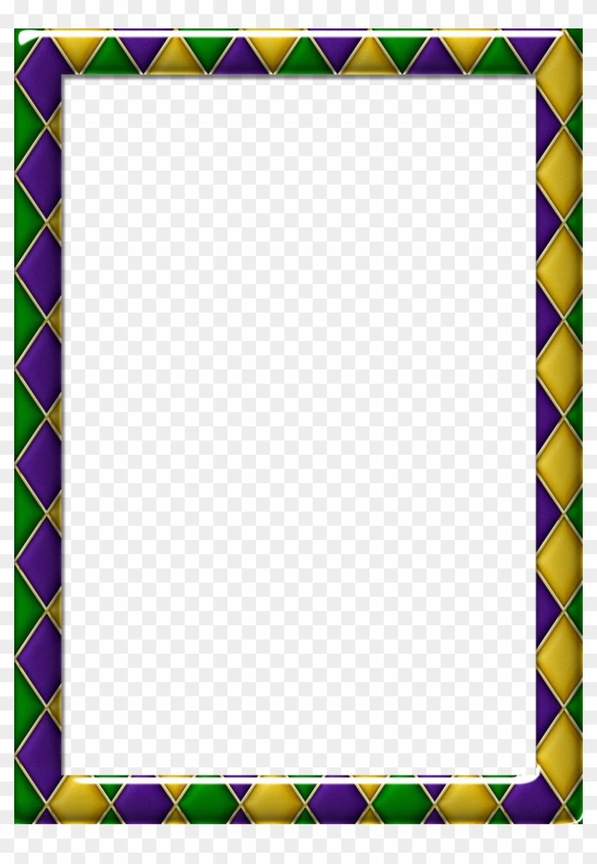 Mardi Gras Clip Art Borders Many Interesting Cliparts - Mardi Gras Clip Art Border #499246